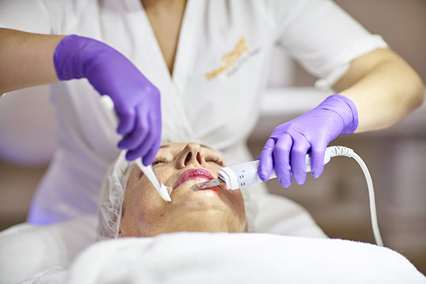 Ultraschall gesichtsbehandlung vita skin