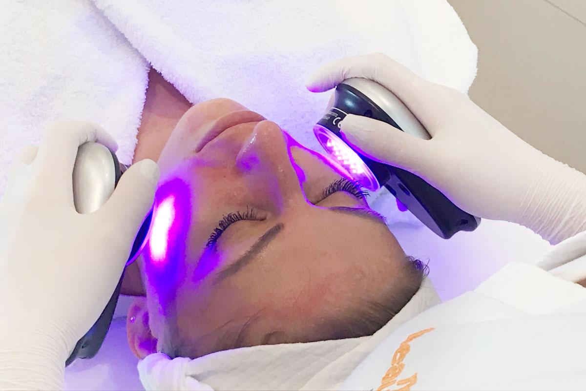 LED Hautverjüngung mit HydraFacial