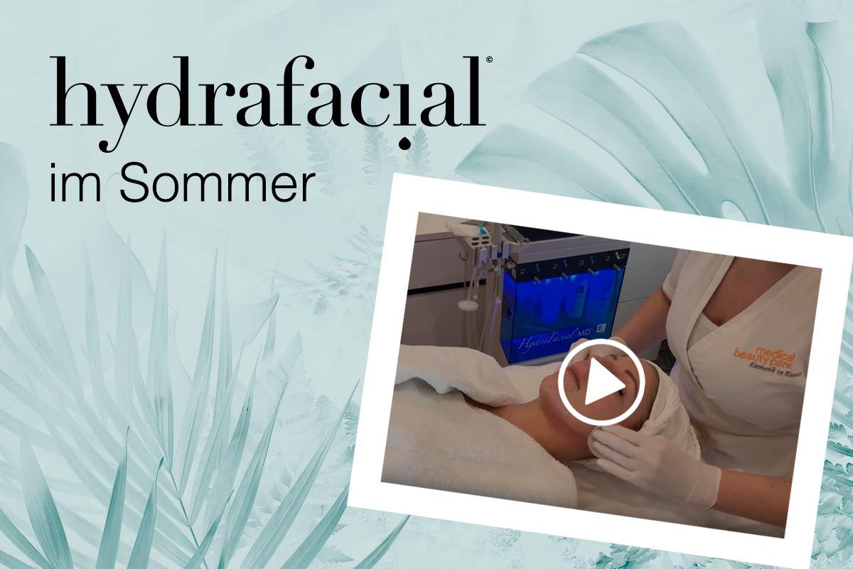 hydrafacial sommer